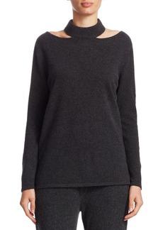 TSE Cashmere Cutout Pullover