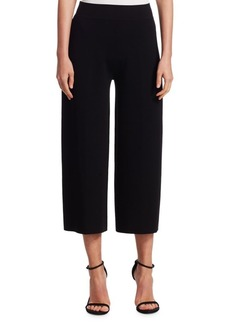 TSE Double Knit Wide-Leg Pants