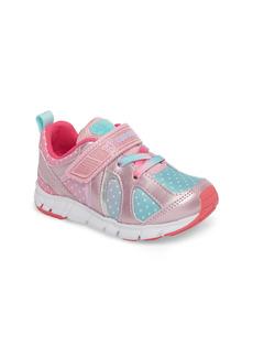 Toddler Girl's Tsukihoshi Rainbow Washable Sneaker