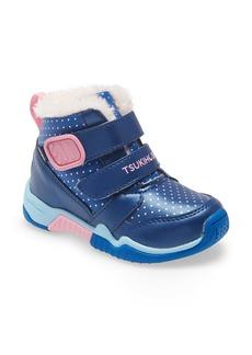 Tsukihoshi Kids' Igloo Waterproof Sneaker Boot (Walker, Toddler & Little Kid)