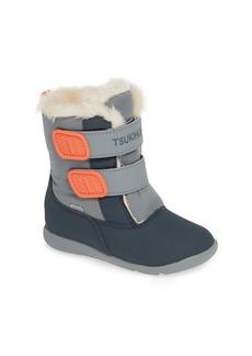 Tsukihoshi Teddy Waterproof Boot (Walker, Toddler & Little Kid)