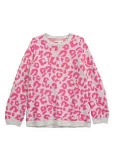Tucker and Tate Tucker + Tate Animal Print Sweater (Toddler Girls, Little Girls & Big Girls)