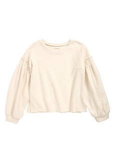 Tucker and Tate Tucker + Tate Bubble Sleeve Pullover (Big Girls)
