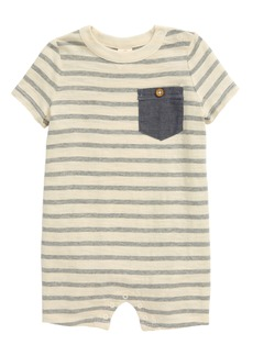 Tucker and Tate Tucker + Tate Chambray Pocket Romper (Baby)
