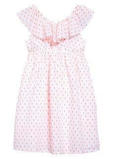 Tucker and Tate Tucker + Tate Kids' Clip Dot Ruffle Dress (Toddler, Little Girl & Big Girl)