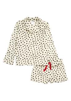 Tucker and Tate Tucker + Tate Collared Fleece Pajamas (Big Girls)