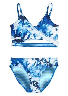 Tucker and Tate Tucker + Tate Crisscross Two-Piece Swimsuit (Big Girl)