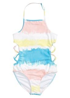 Tucker and Tate Tucker + Tate Cutout One-Piece Swimsuit (Big Girl)