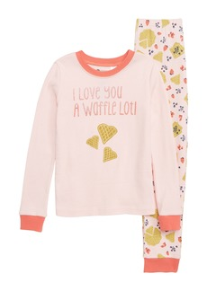 Tucker and Tate Tucker + Tate Fitted Two-Piece Pajamas (Toddler Girls, Little Girls & Big Girls)