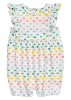 Tucker and Tate Tucker + Tate Floral Print Romper (Baby)