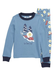 Tucker and Tate Tucker + Tate Glow in the Dark Two-Piece Fitted Pajamas (Toddler Boys, Little Boys & Big Boys)