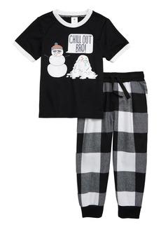 Tucker and Tate Tucker + Tate Graphic Two-Piece Pajamas Set (Toddler Boys, Little Boys & Big Boys)