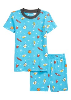 Tucker and Tate Tucker + Tate Kids' Glow in the Dark Fitted Two-Piece Short Pajamas (Toddler, Little Boy & Big Boy)