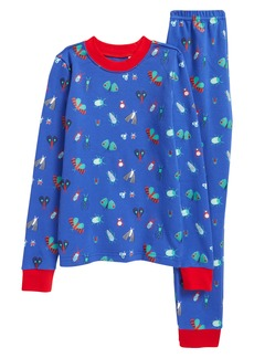 Tucker and Tate Tucker + Tate x Smithsonian Kids' Glow in the Dark Two-Piece Fitted Pajamas (Toddler, Little Boy & Big Boy)
