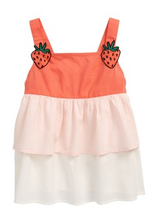 Tucker and Tate Tucker + Tate Kids' Woven Tiered Top (Toddler, Little Girl & Big Girl)