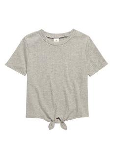 Tucker and Tate Tucker + Tate Knot Hem T-Shirt (Big Girl)