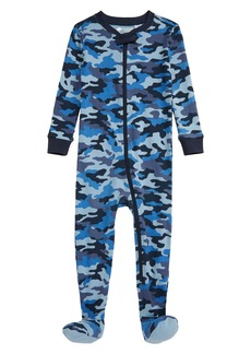 Tucker and Tate Tucker + Tate  Print Fitted One-Piece Pajamas (Baby)