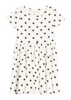 Tucker and Tate Tucker + Tate Print Short Sleeve Dress (Toddler, Little Girl & Big Girl)