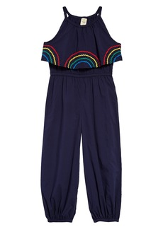 Tucker and Tate Tucker + Tate Ruby Print Jumpsuit (Toddler Girls, Little Girls & Big Girls)