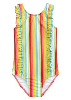 Tucker and Tate Tucker + Tate Ruffle One-Piece Swimsuit (Toddler Girl, Little Girl & Big Girl)