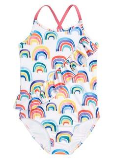 Tucker and Tate Tucker + Tate Kids' Ruffle One-Piece Swimsuit (Toddler, Little Girl & Big Girl)