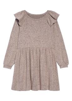 Tucker and Tate Tucker + Tate Kids' Ruffle Shoulder Knit Dress (Toddler Girls, Little Girls & Big Girls)