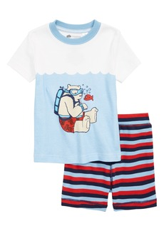 Tucker and Tate Tucker + Tate Two-Piece Fitted Pajamas (Toddler Boys, Little Boys & Big Boys)