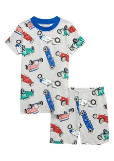 Tucker and Tate Tucker + Tate x Smithsonian Kids' Glow in the Dark Fitted Two-Piece Short Pajamas (Toddler, Little Boy & Big Boy)