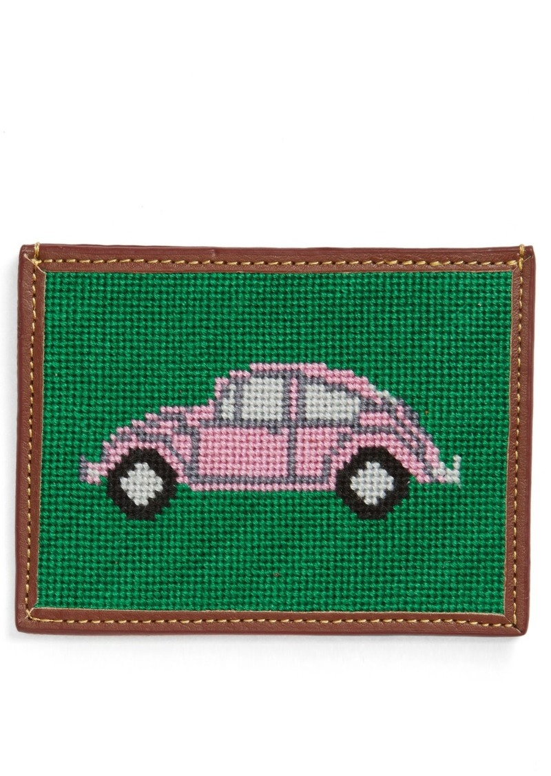 Tucker Blair Needlepoint VW Bug Card Case