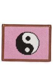 Tucker Blair Needlepoint Yin Yang Card Case