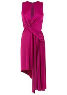Tufi Duek asymmetrical midi dress