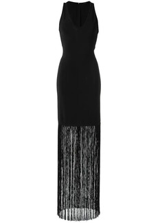 Tufi Duek fringed long dress