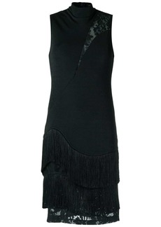 Tufi Duek lace panelled dress