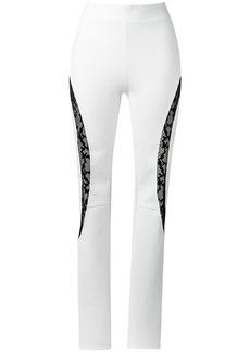 Tufi Duek lace panels trousers