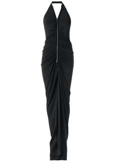 Tufi Duek long halterneck gown