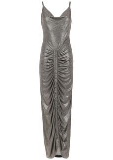 Tufi Duek metallic long dress