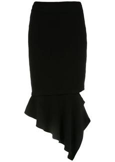 Tufi Duek midi asymmetrical skirt