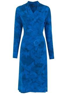 Tufi Duek midi wrap dress