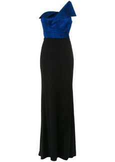 Tufi Duek one shoulder gown