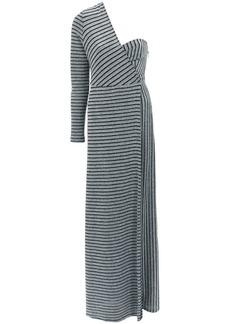 Tufi Duek one shoulder gown