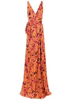 Tufi Duek printed long dress