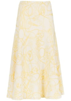 Tufi Duek printed midi skirt