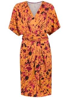 Tufi Duek printed short sleeves dress