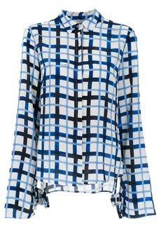 Tufi Duek printed silk top