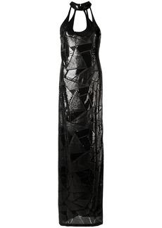 Tufi Duek sequin panels gown