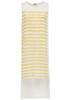 Tufi Duek silk striped top