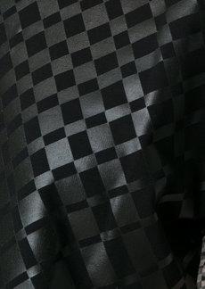 Tufi Duek bicolor printed blouse - Black