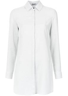 Tufi Duek cut out long shirt - White