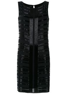 Tufi Duek embroidered short dress - Black