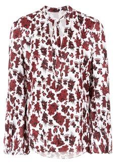 Tufi Duek floral print shirt - Red